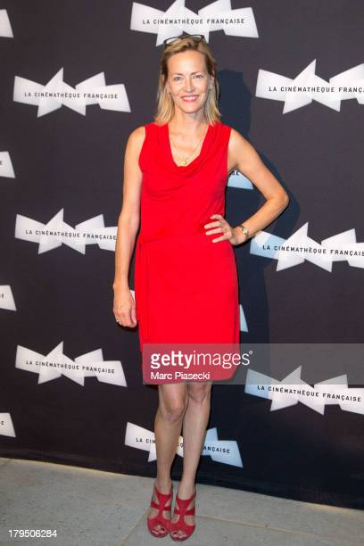 Actress Gabrielle Lazure attends the 'Michel Piccoli retrospective exhibition' at la cinematheque on September 4 2013 in Paris France