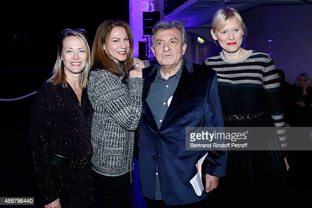 Actress Gabrielle Lazure Magalie de Tscharner Doctor Jacques Leibowitch and Actress Anna Sherbinina attend Maison Jean Paul Gaultier Hosts 'Le Projet...