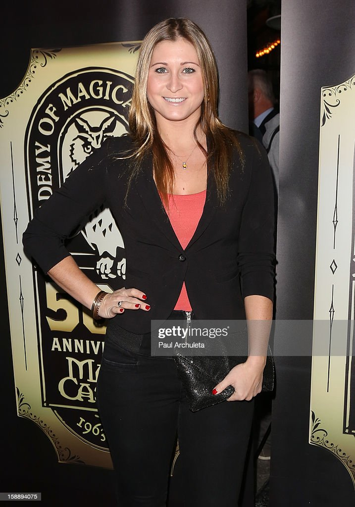 Actress Gabrielle Stone attends the Academy Of Magical Arts 50th Anniversary Gala at The Magic Castle on January 2, 2013 in Hollywood, California.