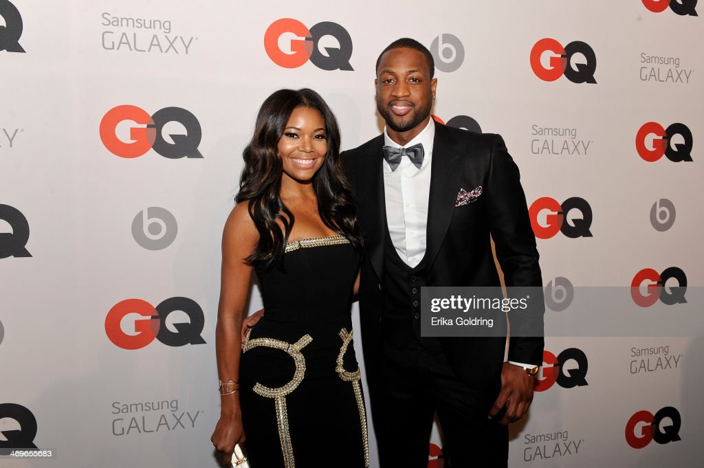 Actress <a gi-track='captionPersonalityLinkClicked' href=/galleries/search?phrase=Gabrielle+Union&family=editorial&specificpeople=202066 ng-click='$event.stopPropagation()'>Gabrielle Union</a> and Miami Heat Shooting Guard <a gi-track='captionPersonalityLinkClicked' href=/galleries/search?phrase=Dwyane+Wade&family=editorial&specificpeople=201481 ng-click='$event.stopPropagation()'>Dwyane Wade</a> attend GQ & LeBron James NBA All Star Party sponsored by Samsung Galaxy and Beats at Ogden's Museum's Patrick F. Taylor Library on February 15, 2014 in New Orleans, Louisiana.