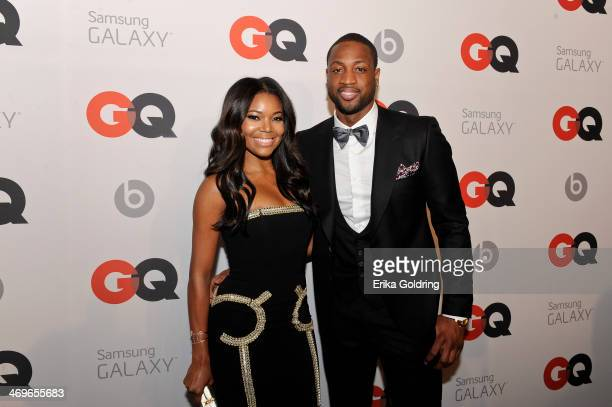 Actress Gabrielle Union and Miami Heat Shooting Guard Dwyane Wade attend GQ LeBron James NBA All Star Party sponsored by Samsung Galaxy and Beats at...
