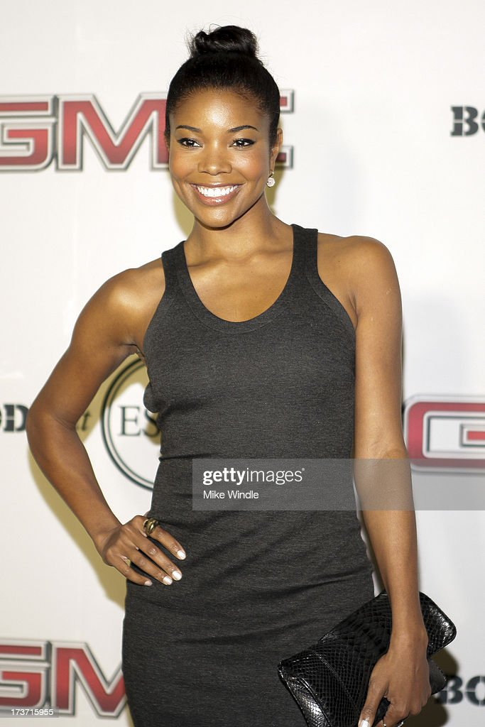 Actress Gabrielle Union arrives at ESPN the Magazine's 'Body Issue' 5th annual ESPY's event at Lure on July 16, 2013 in Hollywood, California.