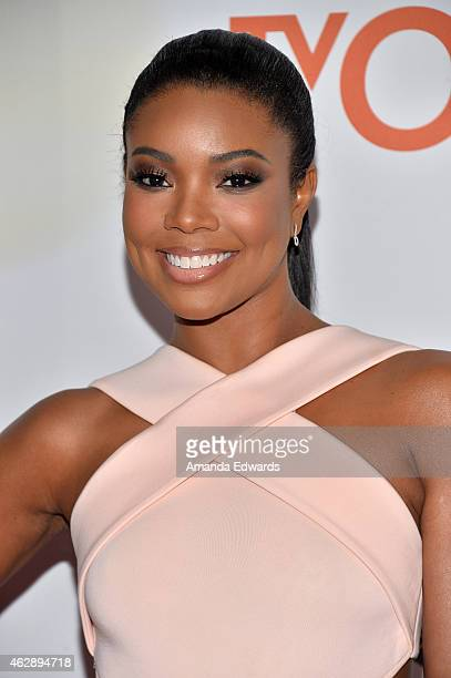 Actress Gabrielle Union arrives at the 46th Annual NAACP Image Awards on February 6 2015 in Pasadena California