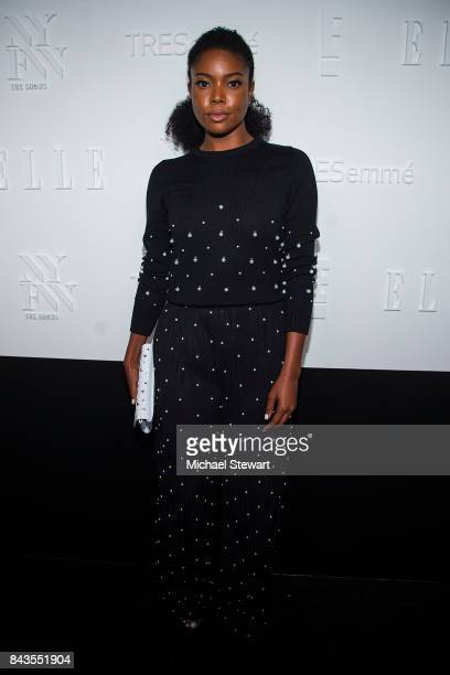 Actress Gabrielle Union attends ELLE E IMG host A Celebration of Personal Style NYFW Kickoff Party on September 6 2017 in New York City