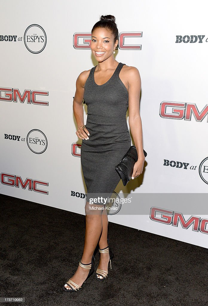 Actress <a gi-track='captionPersonalityLinkClicked' href=/galleries/search?phrase=Gabrielle+Union&family=editorial&specificpeople=202066 ng-click='$event.stopPropagation()'>Gabrielle Union</a> attends ESPN The Magazine 5th annual 'Body Issue' party at Lure on July 16, 2013 in Hollywood, California.