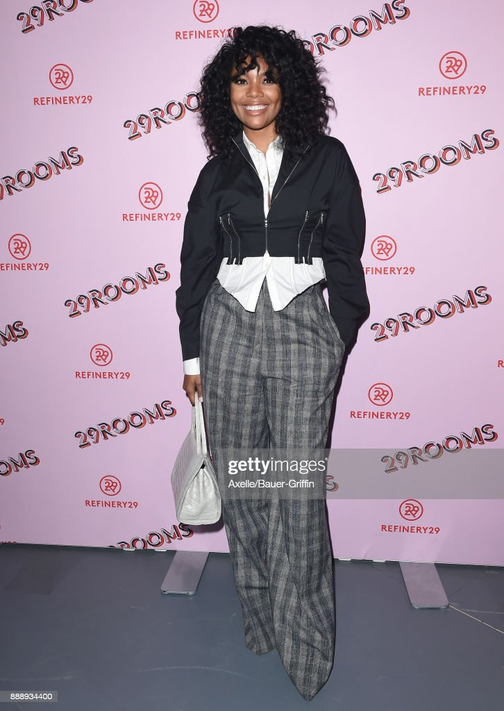 Actress Gabrielle Union attends Refinery29 29Rooms Los Angeles: Turn It Into Art at ROW DTLA on December 6, 2017 in Los Angeles, California.