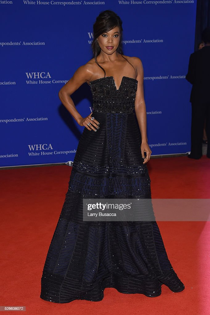 Actress <a gi-track='captionPersonalityLinkClicked' href=/galleries/search?phrase=Gabrielle+Union&family=editorial&specificpeople=202066 ng-click='$event.stopPropagation()'>Gabrielle Union</a> attends the 102nd White House Correspondents' Association Dinner on April 30, 2016 in Washington, DC.