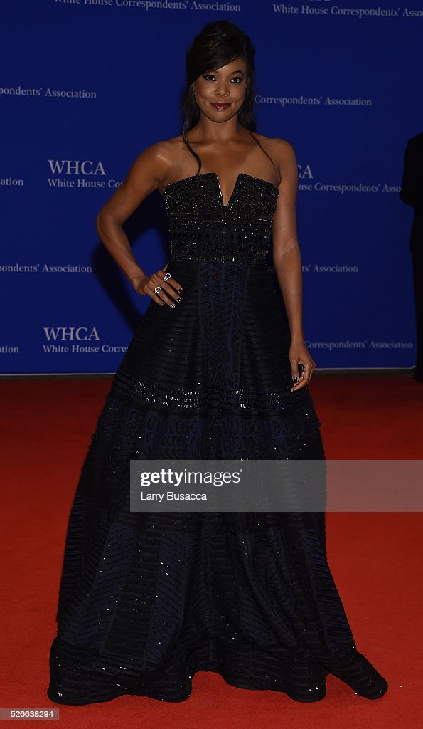 Actress Gabrielle Union attends the 102nd White House Correspondents' Association Dinner on April 30, 2016 in Washington, DC.