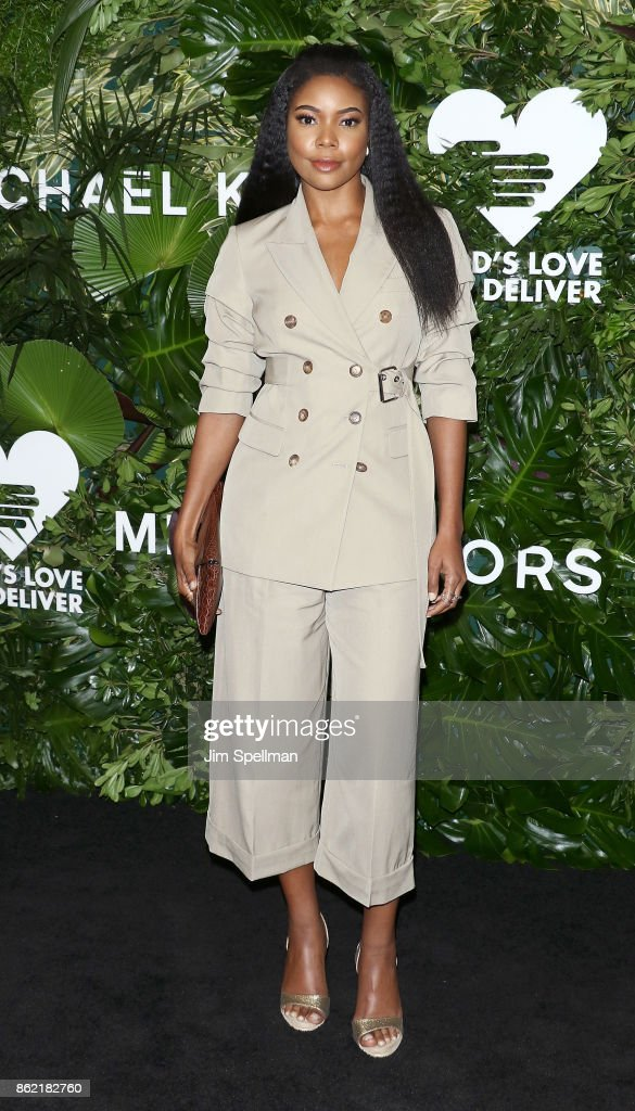 Actress Gabrielle Union attends the 11th Annual God's Love We Deliver Golden Heart Awards at Spring Studios on October 16, 2017 in New York City.