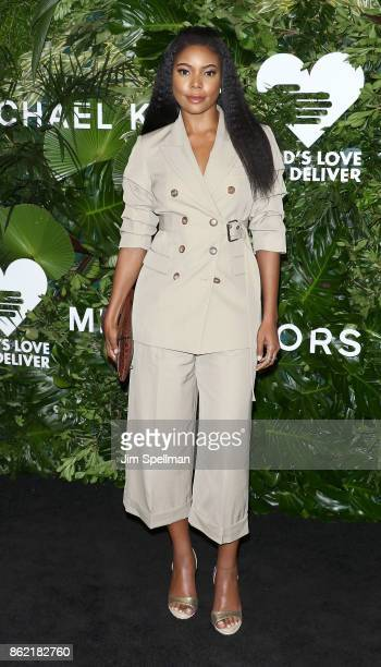 Actress Gabrielle Union attends the 11th Annual God's Love We Deliver Golden Heart Awards at Spring Studios on October 16 2017 in New York City