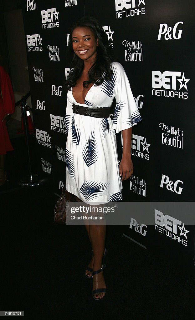 Actress Gabrielle Union attends the 1st Annual Pre-BET Awards Party at Boulevard 3 on June 25, 2007 in Los Angeles, California.