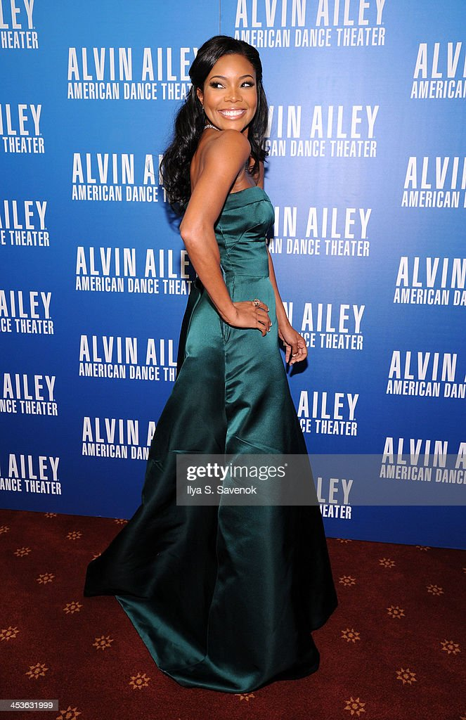 Actress Gabrielle Union attends the 2013 Alvin Ailey American Dance Theater's opening night benefit gala at New York City Center on December 4, 2013 in New York City.