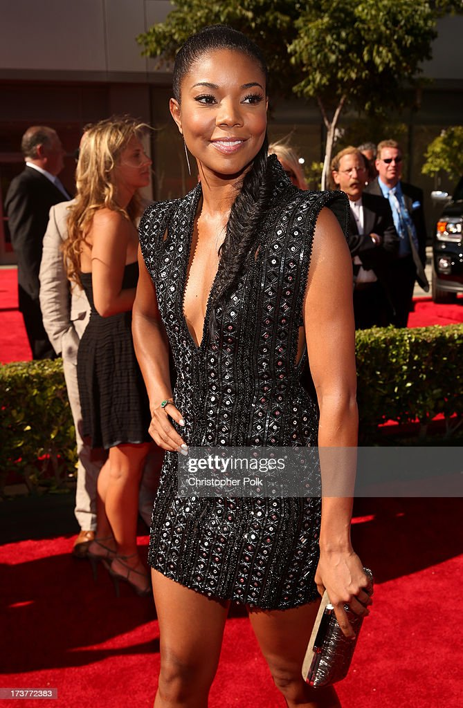 Actress Gabrielle Union attends The 2013 ESPY Awards at Nokia Theatre L.A. Live on July 17, 2013 in Los Angeles, California.