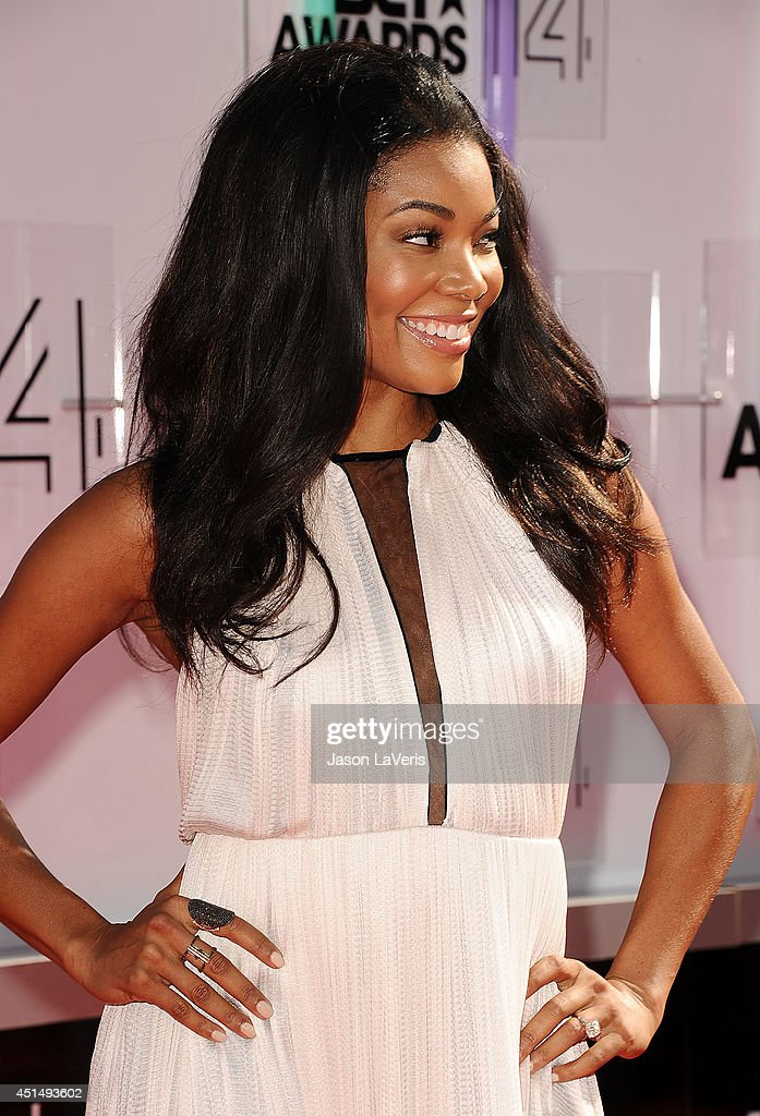Actress Gabrielle Union attends the 2014 BET Awards at Nokia Plaza L.A. LIVE on June 29, 2014 in Los Angeles, California.