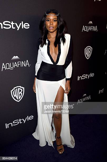 Actress Gabrielle Union attends The 2016 InStyle And Warner Bros 73rd Annual Golden Globe Awards PostParty at The Beverly Hilton Hotel on January 10...