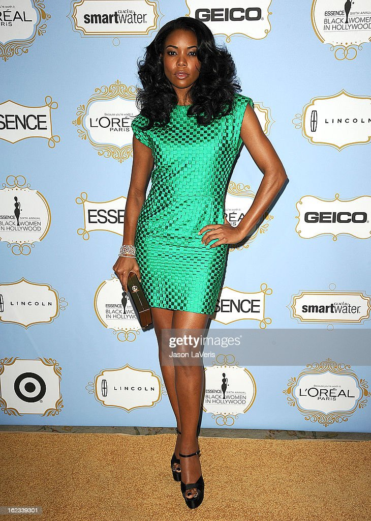 Actress Gabrielle Union attends the 6th annual ESSENCE Black Women In Hollywood awards luncheon at Beverly Hills Hotel on February 21, 2013 in Beverly Hills, California.