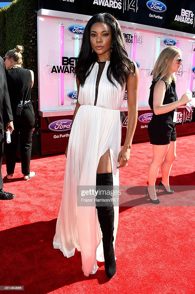 Actress Gabrielle Union attends the BET AWARDS '14 at Nokia Theatre L.A. LIVE on June 29, 2014 in Los Angeles, California.