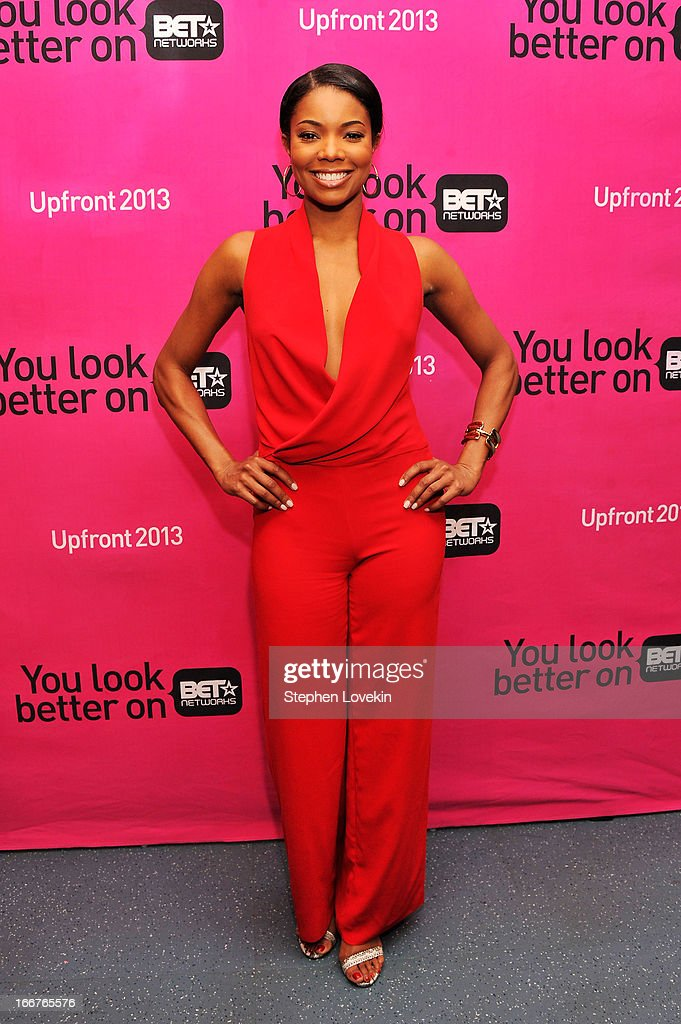 Actress Gabrielle Union attends the BET Networks 2013 New York Upfront on April 16, 2013 in New York City.