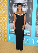 Actress Gabrielle Union attends the premiere of 'Confirmation' at Paramount Theater on the Paramount Studios lot on March 31 2016 in Hollywood...
