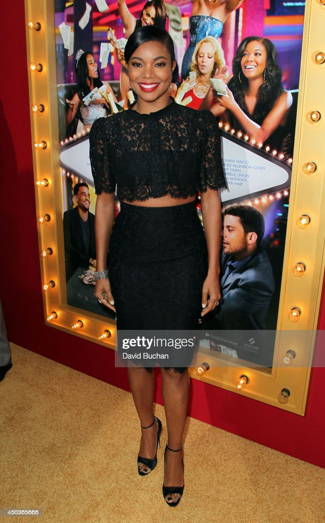 Actress <a gi-track='captionPersonalityLinkClicked' href=/galleries/search?phrase=Gabrielle+Union&family=editorial&specificpeople=202066 ng-click='$event.stopPropagation()'>Gabrielle Union</a> attends the Premiere Of Screen Gems' 'Think Like A Man Too' at TCL Chinese Theatre on June 9, 2014 in Hollywood, California.