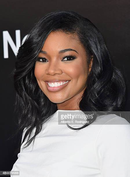 Actress Gabrielle Union attends the Samsung Galaxy S6 Edge Plus and Note 5 Launch party on August 18 2015 in West Hollywood California