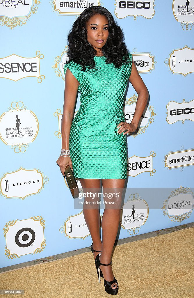 Actress Gabrielle Union attends the Sixth Annual ESSENCE Black Women In Hollywood Awards Luncheon at the Beverly Hills Hotel on February 21, 2013 in Beverly Hills, California.