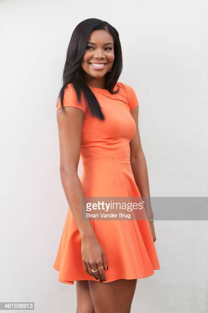 Actress Gabrielle Union is photographed for Los Angeles Times on December 16 2013 in West Hollywood California PUBLISHED IMAGE CREDIT MUST READ Brian...