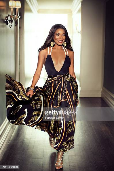 Actress Gabrielle Union is photographed for Ocean Drive Magazine on March 2 2016 in Hollywood California ON DOMESTIC EMBARGO UNTIL AUGUST 1 2016 ON...