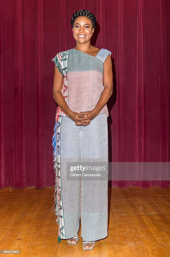 Actress Gabrielle Union promotes her latest book 'We're Going to Need More Wine: Stories That Are Funny, Complicated, and True' during Gabrielle Union's Real Life Book Club Tour on October 19, 2017 in Philadelphia, Pennsylvania.