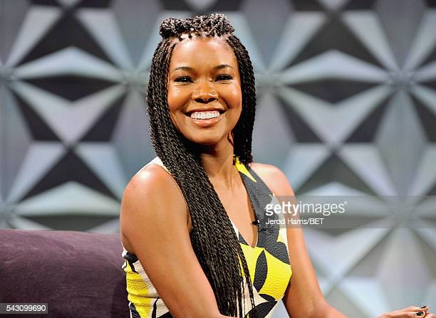 Actress Gabrielle Union speaks during the Genius Talks sponsored by ATT during the 2016 BET Experience on June 25 2016 in Los Angeles California