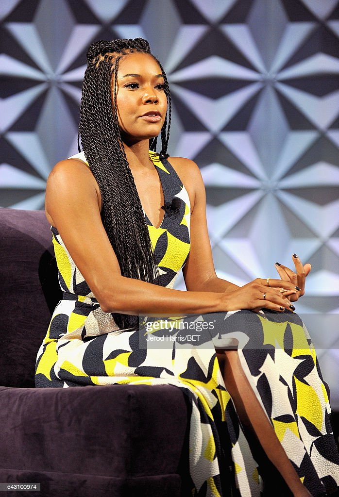 Actress <a gi-track='captionPersonalityLinkClicked' href=/galleries/search?phrase=Gabrielle+Union&family=editorial&specificpeople=202066 ng-click='$event.stopPropagation()'>Gabrielle Union</a> speaks onstage during the Genius Talks sponsored by AT&T during the 2016 BET Experience on June 25, 2016 in Los Angeles, California.