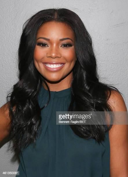 Actress Gabrielle Union visits 106 Park at BET studio on January 7 2014 in New York City