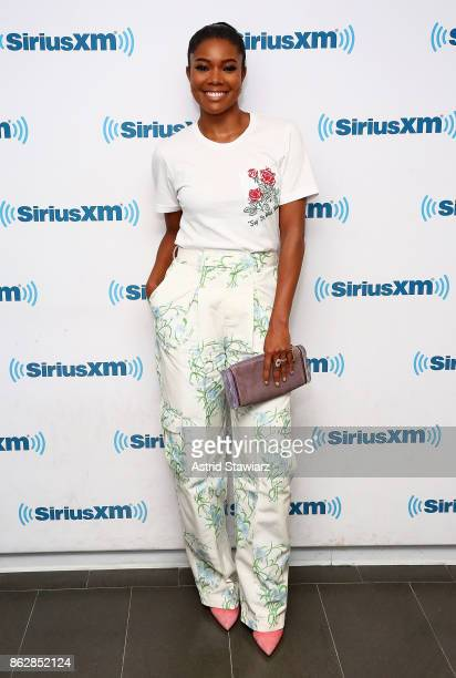 Actress Gabrielle Union visits the SiriusXM Studios on October 18 2017 in New York City