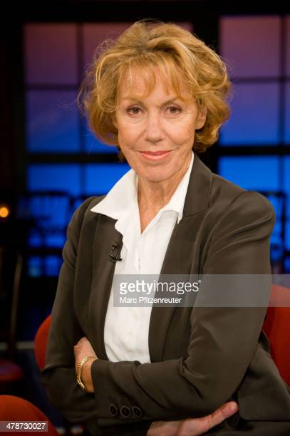 Actress Gaby Dohm attends the Koelner Treff TV Show at the WDR Studio on March 14 2014 in Cologne Germany