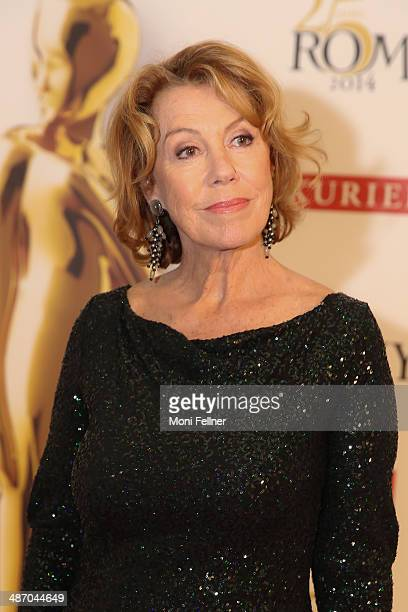 Actress Gaby Dohm attends the Romy Award 2014 at Hofburg Vienna on April 26 2014 in Vienna Austria