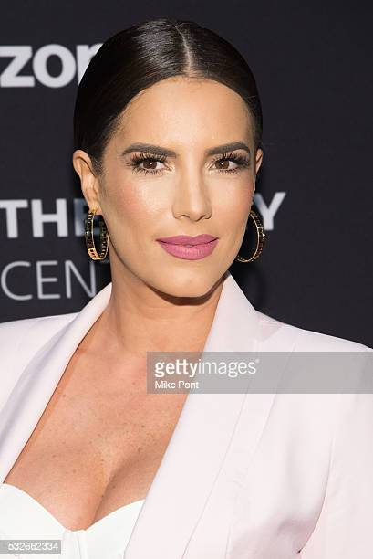 Actress Gaby Espino attends the 2016 Paley Center for Media's Tribute To Hispanic Achievements In Television at Cipriani Wall Street on May 18 2016...