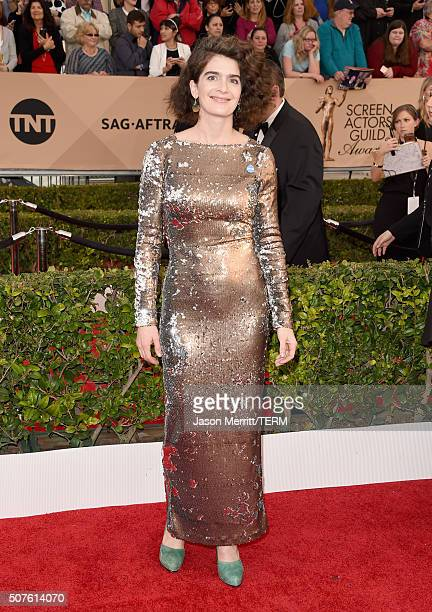 Actress Gaby Hoffman attends The 22nd Annual Screen Actors Guild Awards at The Shrine Auditorium on January 30 2016 in Los Angeles California...