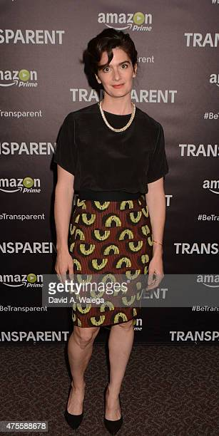 Actress Gaby Hoffman attends the 'Transparent' special screening at Directors Guild Of America on June 1 2015 in Los Angeles California