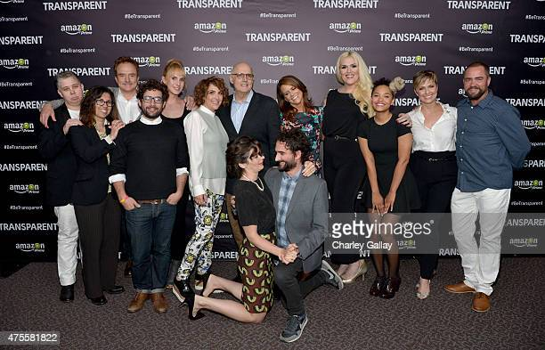 Actress Gaby Hoffmann actor Jay Duplass Faith Soloway actor Bradley Whitford Amazon Studios' Joe Lewis actress Zackary Drucker writer/producer Jill...