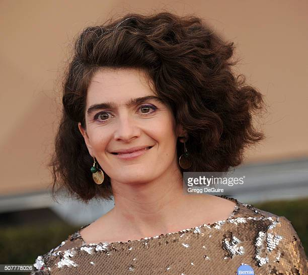Actress Gaby Hoffmann arrives at the 22nd Annual Screen Actors Guild Awards at The Shrine Auditorium on January 30 2016 in Los Angeles California