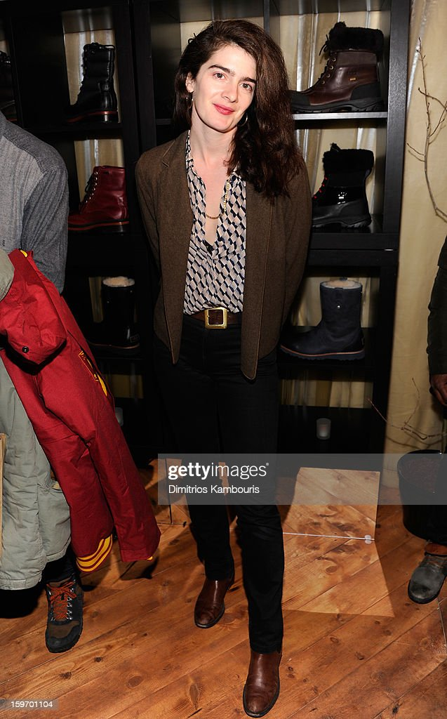 Actress Gaby Hoffmann attends Day 1 of Village at The Lift 2013 on January 18, 2013 in Park City, Utah.