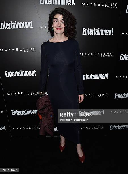 Actress Gaby Hoffmann attends Entertainment Weekly's celebration honoring THe Screen Actors Guild presented by Maybeline at Chateau Marmont on...