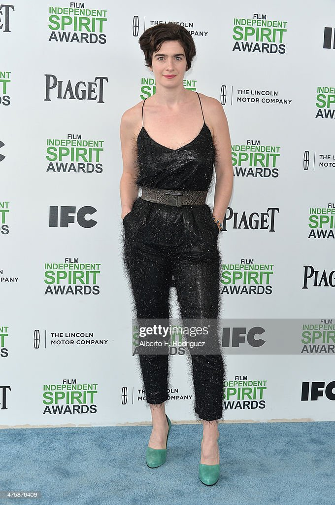 Actress Gaby Hoffmann attends the 2014 Film Independent Spirit Awards at Santa Monica Beach on March 1, 2014 in Santa Monica, California.