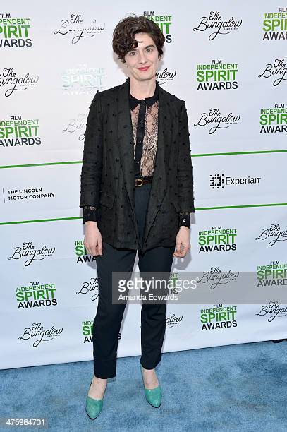 Actress Gaby Hoffmann attends the 2014 Film Independent Spirit Awards after party at The Bungalow on March 1 2014 in Santa Monica California