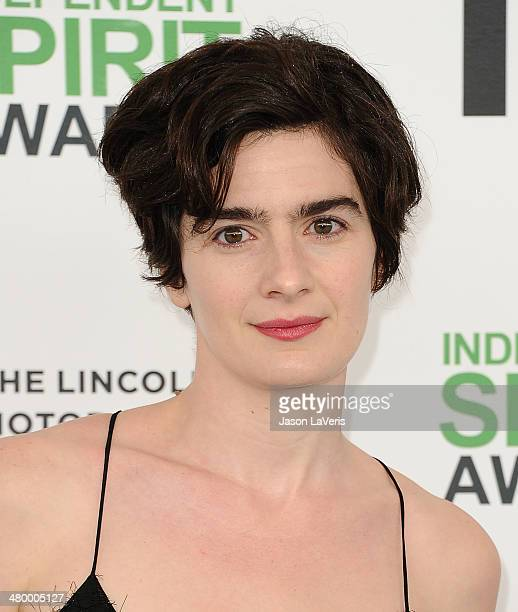 Actress Gaby Hoffmann attends the 2014 Film Independent Spirit Awards on March 1 2014 in Santa Monica California