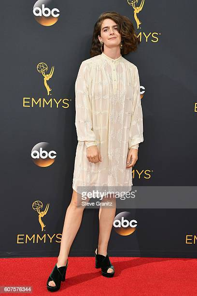 Actress Gaby Hoffmann attends the 68th Annual Primetime Emmy Awards at Microsoft Theater on September 18 2016 in Los Angeles California