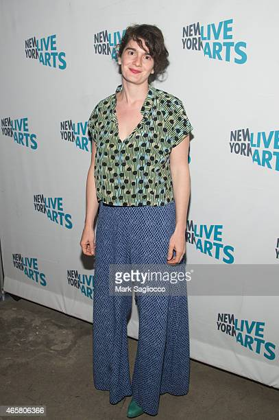 Actress Gaby Hoffmann attends the New York Live Arts 2015 Gala at SIR Stage37 on March 10 2015 in New York City