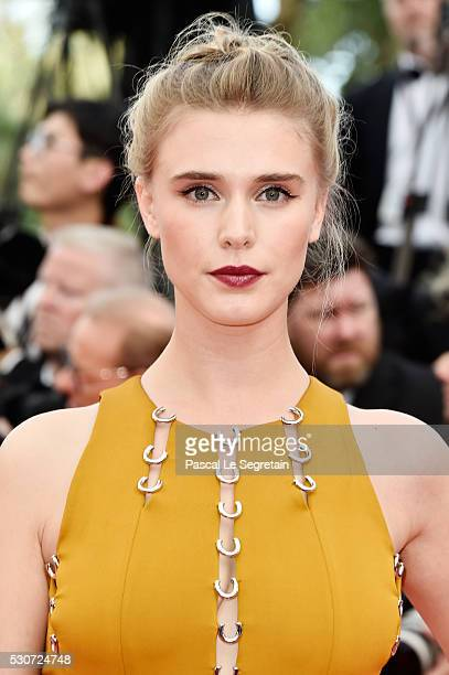 Actress Gaia Weiss attends the 'Cafe Society' premiere and the Opening Night Gala during the 69th annual Cannes Film Festival at the Palais des...