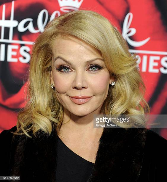 Actress Gail O'Grady arrives at Hallmark Channel And Hallmark Movies And Mysteries Winter 2017 TCA Press Tour at The Tournament House on January 14...