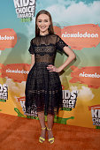 Actress Gail Soltys attends Nickelodeon's 2016 Kids' Choice Awards at The Forum on March 12 2016 in Inglewood California